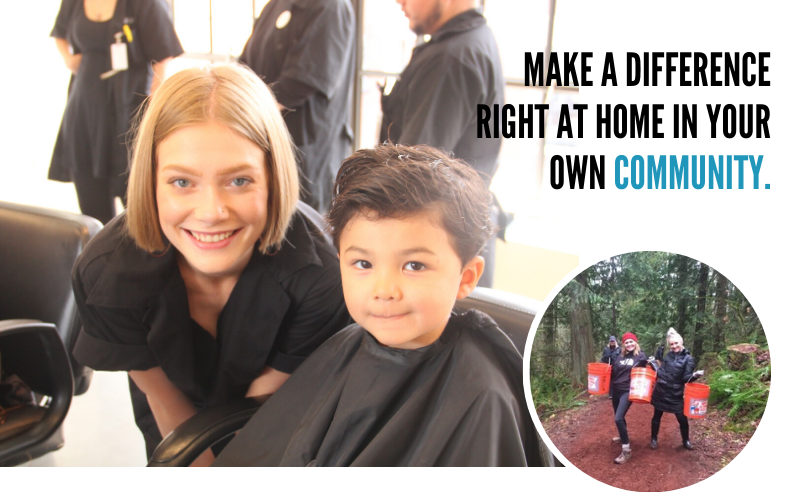 Make a difference right at home in your own community.