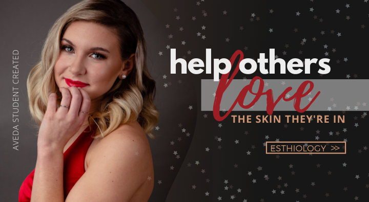 The Esthiology program at aveda institute portland allows estheticians to help others love the skin they're in and feel beautiful.