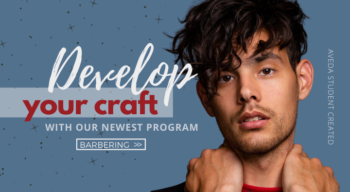 Aveda Institute Portland is excited for our newest program Barbering
