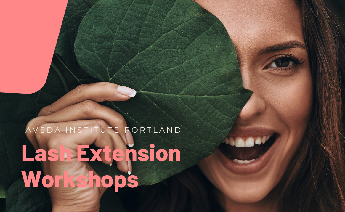 Eyelash Extension course offered at Aveda Institute Portland in Oregon