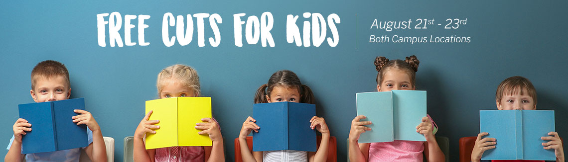 Back To School - Free Cuts For Kids Grades K - 12