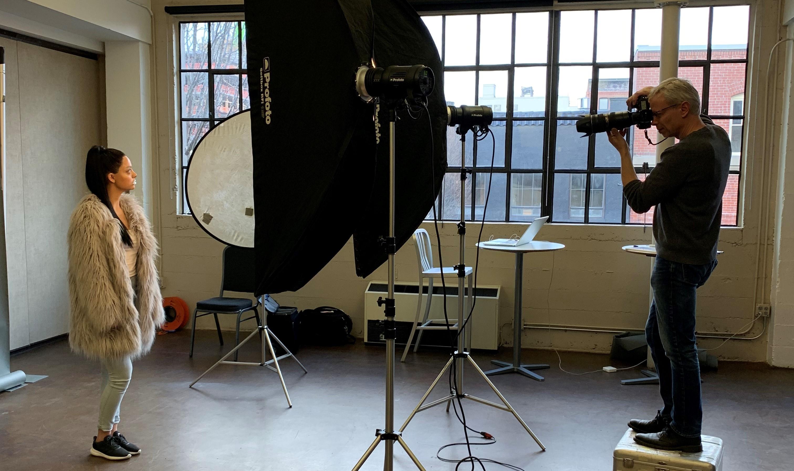 photoshoot, student work, avant garde, studio, photographer, editorial