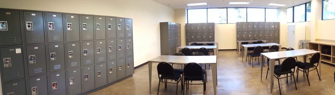 Breakroom, Aveda Instittute Portland Vancouver Campus