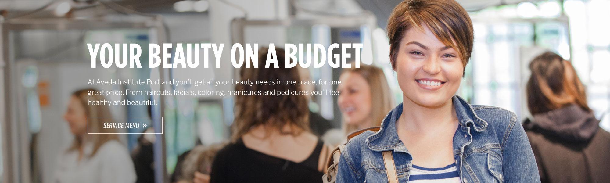 Beauty on a Budget - Aveda Institute Portland