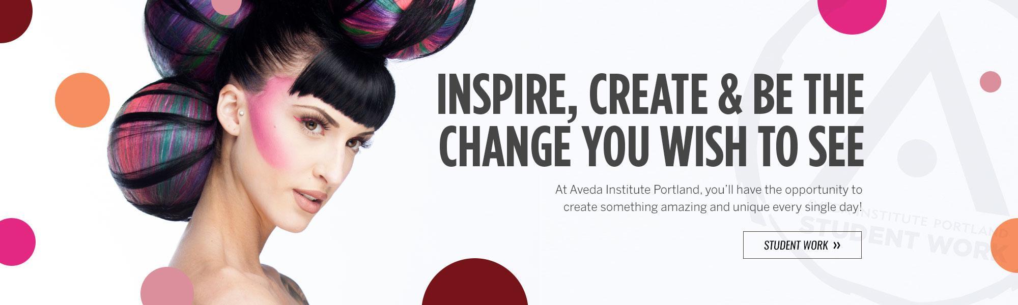 Aveda Institute Portland Student Work