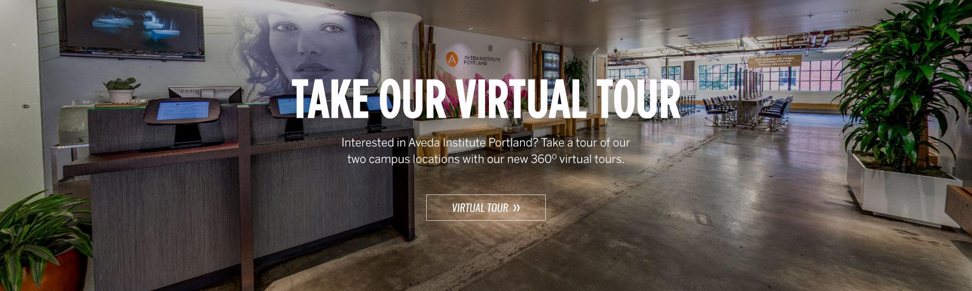 Virtual Tour - Aveda Institute Portland