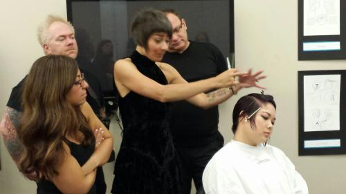 Sassoon Class, Aveda Institute Portland