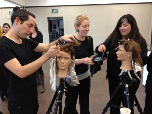 Aveda Color Class