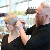 stylist, cutting, salon