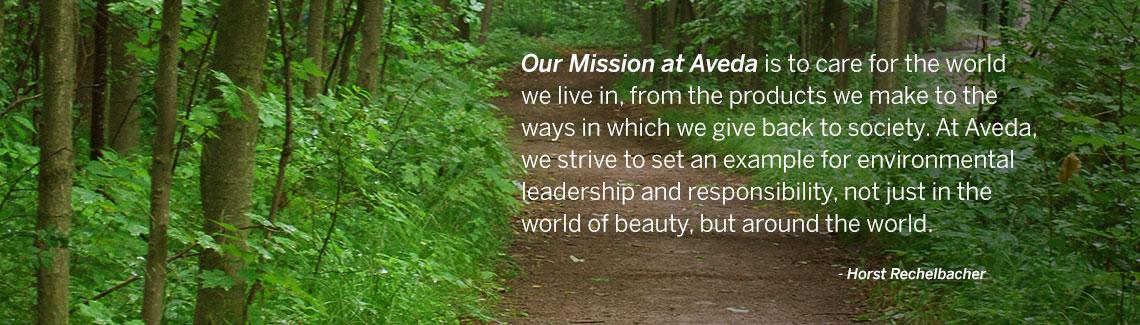 Aveda Mission Statement